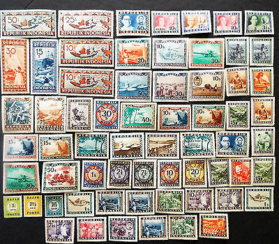 Older Mint Stamps From Indonesia