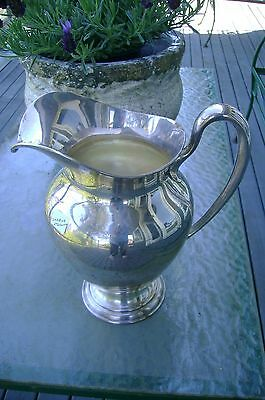 Vintage Shreve & Co. San Francisco sterling silver 4.5 pt water pitcher  #10447
