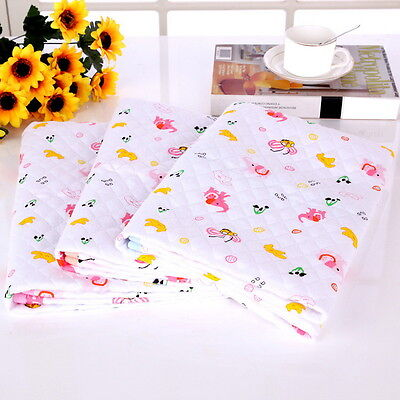 Vogue Baby Waterproof Cotton Washable Urine Mat Nappy Bed Changing Diaper Pad