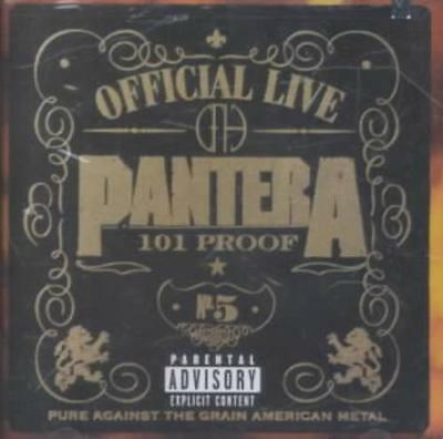 Pantera - Official Live: 101 Proof New Cd