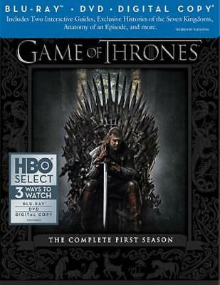 Game Of Thrones: The Complete First Season New Blu-Ray
