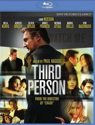 Third Person New Blu-Ray