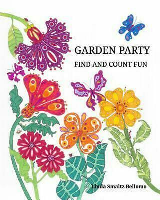 Garden Party Find and Count Fun by Linda Smaltz Bellomo (English) Paperback Book