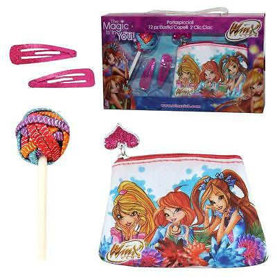 Winx Club - Girl Gift Set - Wallet and Hair Accessories