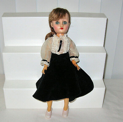 "13 1/2"" Horsman Fashion Doll Cindy Marked ""Paris"" on Neck  Circa 1957"