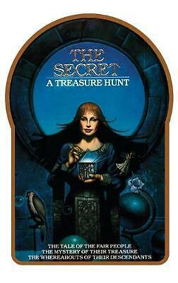 The Secret by Byron Preiss (English) Hardcover Book Free Shipping!