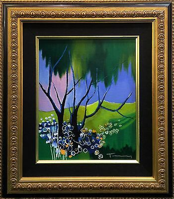 "Itzchak Tarkay ""after The Rain"" 