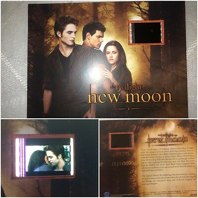 Twilight New Moon Robert Pattinson Kirstin Stewart Limited Edition Film Cell #2