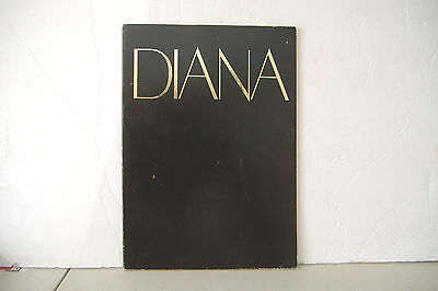 ~Diana Ross 1982 World Tour Program~64 Pages~