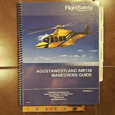 Augusta Westland AW139 Helicopter Maneuvers Guide Manual