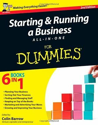 Starting and Running a Business All-in-One For Dummies,Colin Barrow