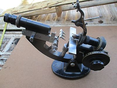Antique Large Brass Bausch & Lomb Microscope 30 Lbs