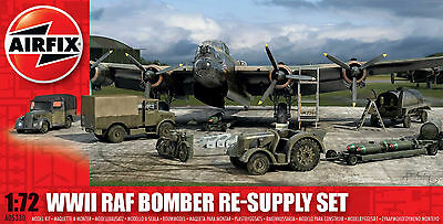 AIRFIX A05330 1/72 WWII RAF Bomber Resupply Set