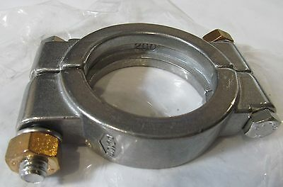 """New Dixon 13Mhp200 2"""" Bolted 304 Stainless Steel Sanitary Clamp"""