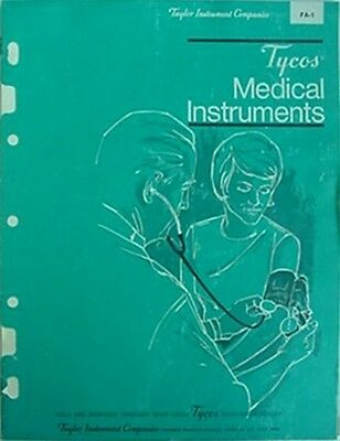 1968 Tycos Medical Instruments Catalog (Taylor Instument Companies