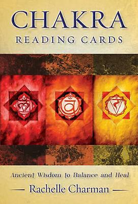 Chakra Reading Cards: Ancient Wisdom to Balance and Heal by Rachelle Charman Boo