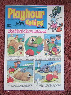 Playhour Comic 6Th August 1983. Nr Mint/mint. Unread Unsold Newsagents Stock.