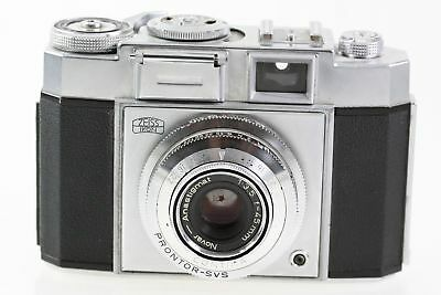 Zeiss Ikon Contina Sucherkamera Prontor-SVS - Novar-Anastigmat 1:3.5 45mm Optik