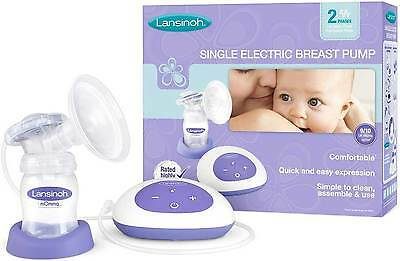 Lansinoh SINGLE ELECTRIC BREAST PUMP Six Levels Efficient Breastfeeding BN