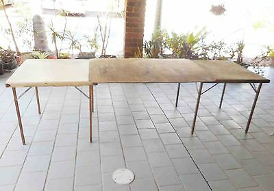 2 Market Card Tables With A Strong Dividing Board