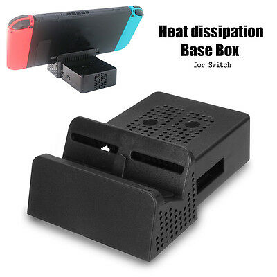Mini Portable Replacement Cooling Dock DIY Case Box For Nintendo Switch Station