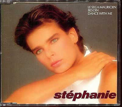 Stephanie - Le Sega Mauricien / Besoin / Dance With Me - Cd Maxi Promo