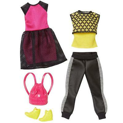 Barbie - Fashion & Accessories Set for Barbie Doll - Two Colors