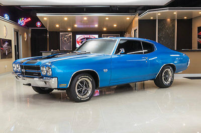 1970 Chevrolet Chevelle  Fully Restored Chevelle! GM 454ci V8, TH400 Automatic, A/C, PS, PB, Disc & More!