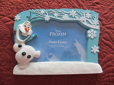 Frozen Frame Tabletop Frame With Olaf 4 X 6 Inch New Disney