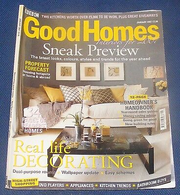 Good Homes January 2007 - Real Life Decorating