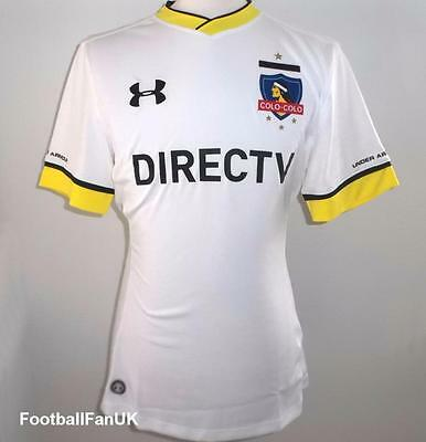 COLO COLO FC Under Armour Home Shirt 2016 NEW S,M,L,XL Jersey 16/17 Chile