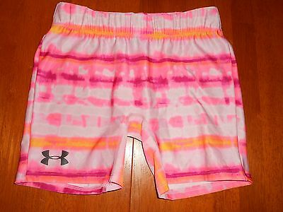 Under Armour girls shorts size Y L youth large MINT cond athletic
