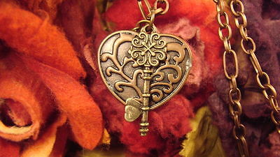 ~Gorgeous Key To Your Heart Amulet & Spell Scroll~Attract Love~