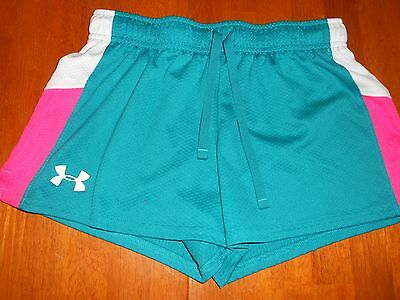 Under Armour girls shorts size Y L youth large loose fit athletic