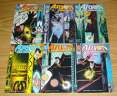 Arion the Immortal #1-6 VF/NM complete series - dc comics 1992 set lot 2 3 4 5