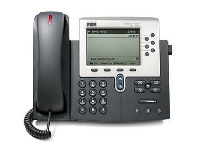 USED Cisco CP-7960G VoIP Business IP Phone 7960 Unified PoE