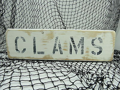 #s663 Online Shop 12 Inch Wood Hand Painted Buoys Sign Nautical Seafood