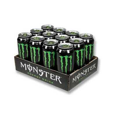 MONSTER ENERGY 355ml CASE OF 12 ENERGY DRINKS WHOLESALE DISCOUNT RETAIL 201255
