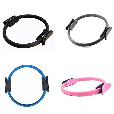 Dual Grip Pilates Ring Magic Circle Muscles Body Exercise Yoga Fitness Equipment