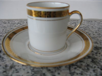 TASSE à MOKA Porcelaine de Sologne Large simili or
