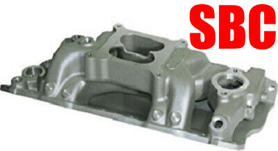 Dart 42811000 SHP Special High Dual Plane Intake Manifold SBC Fits Stock Heads