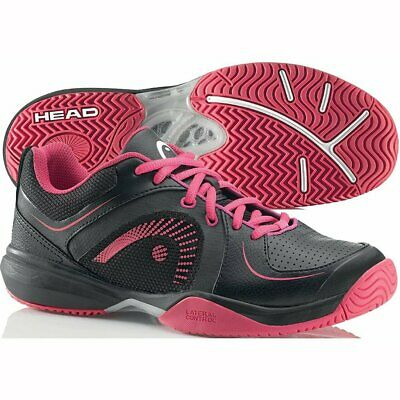 Head Cruze Women's Tennis Shoes Sneakers - Black/Pink - Auth Dealer - Reg $110