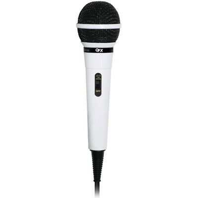 QFX M-106 Unidirectional Dynamic Microphone w/10' Cable
