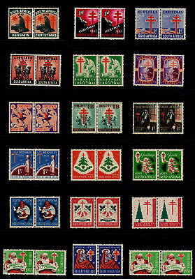 South Africa 1942-1965 Christmas Seal Collection