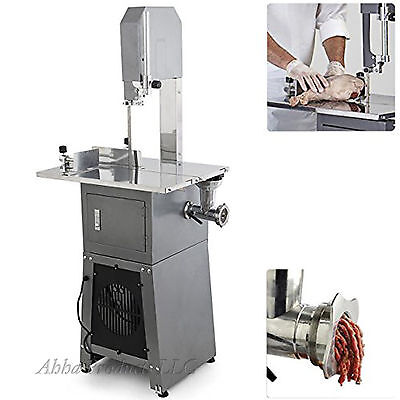 Heavy Duty Standing Butchers Meat Bone Band Saw Grinder Sausage Stuffer Machine