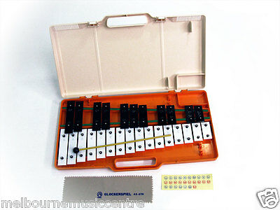 ANGEL CHROMATIC GLOCKENSPIEL 27-Note In Case *Supplied w/4 Beaters & Cloth* NEW!