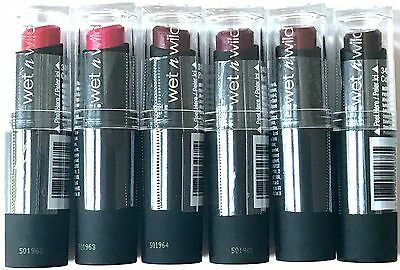 Wet n Wild Mega Last Semi-Matte Lip Color Lipstick You Choose Discontinued VHTF!
