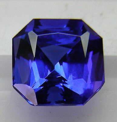 2.37ct! NATURAL GEM TANZANITE EXPERTLY FACETED IN GERMANY +CERTIFICATE AVAILABLE