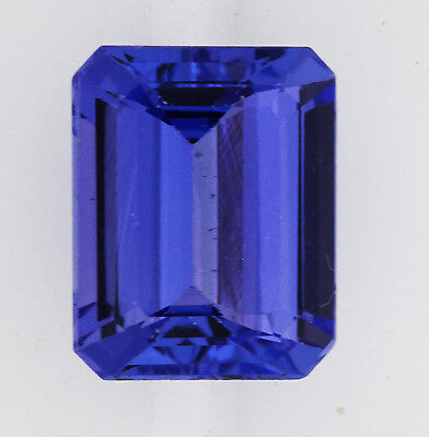 3.38ct!! NATURAL TANZANITE EXPERTLY FACETED IN GERMANY +CERTIFICATE INCLUDED