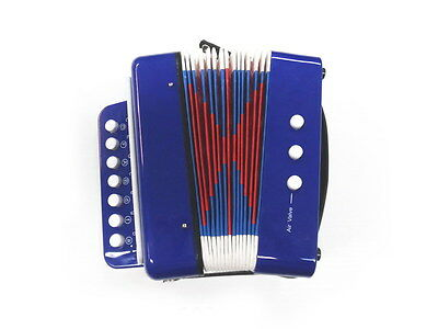 MDA JUNIOR BUTTON/PIANO ACCORDION *7 Treble & 2 Bass Buttons* NEW!